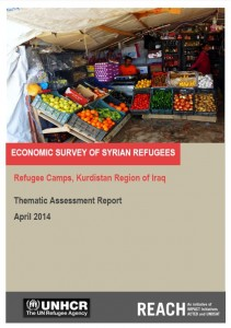 REACH_KRI_SyrianRefugees Economic Survey_April_2014