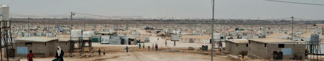 zaatari panorama