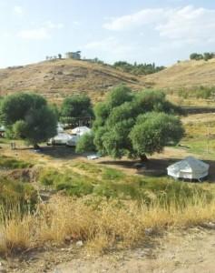 Tents in Kurdistan Region of Iraq