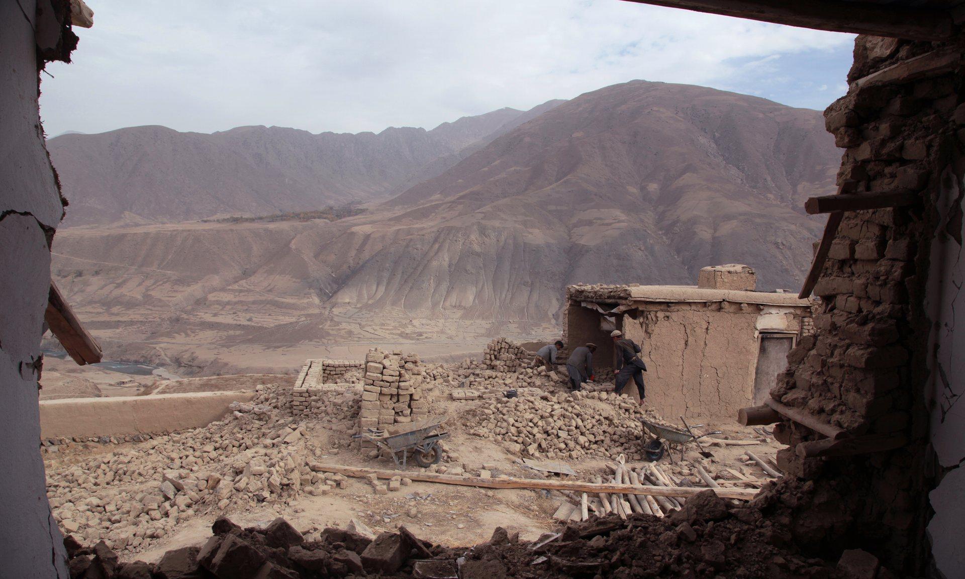 Badakhshan earthquake photo
