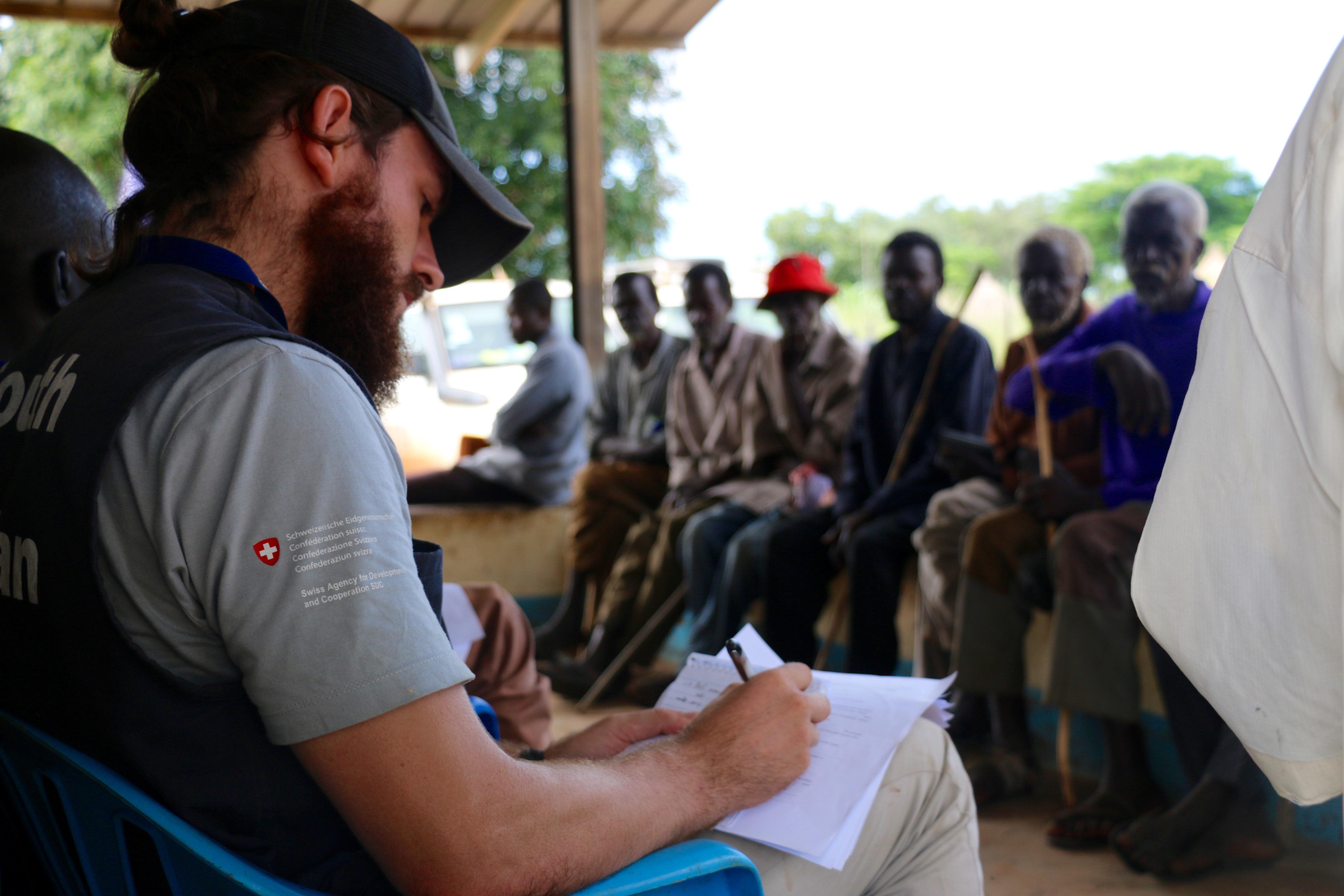 REACH and WFP FGDs in in Bagarri, Wau County, South Sudan