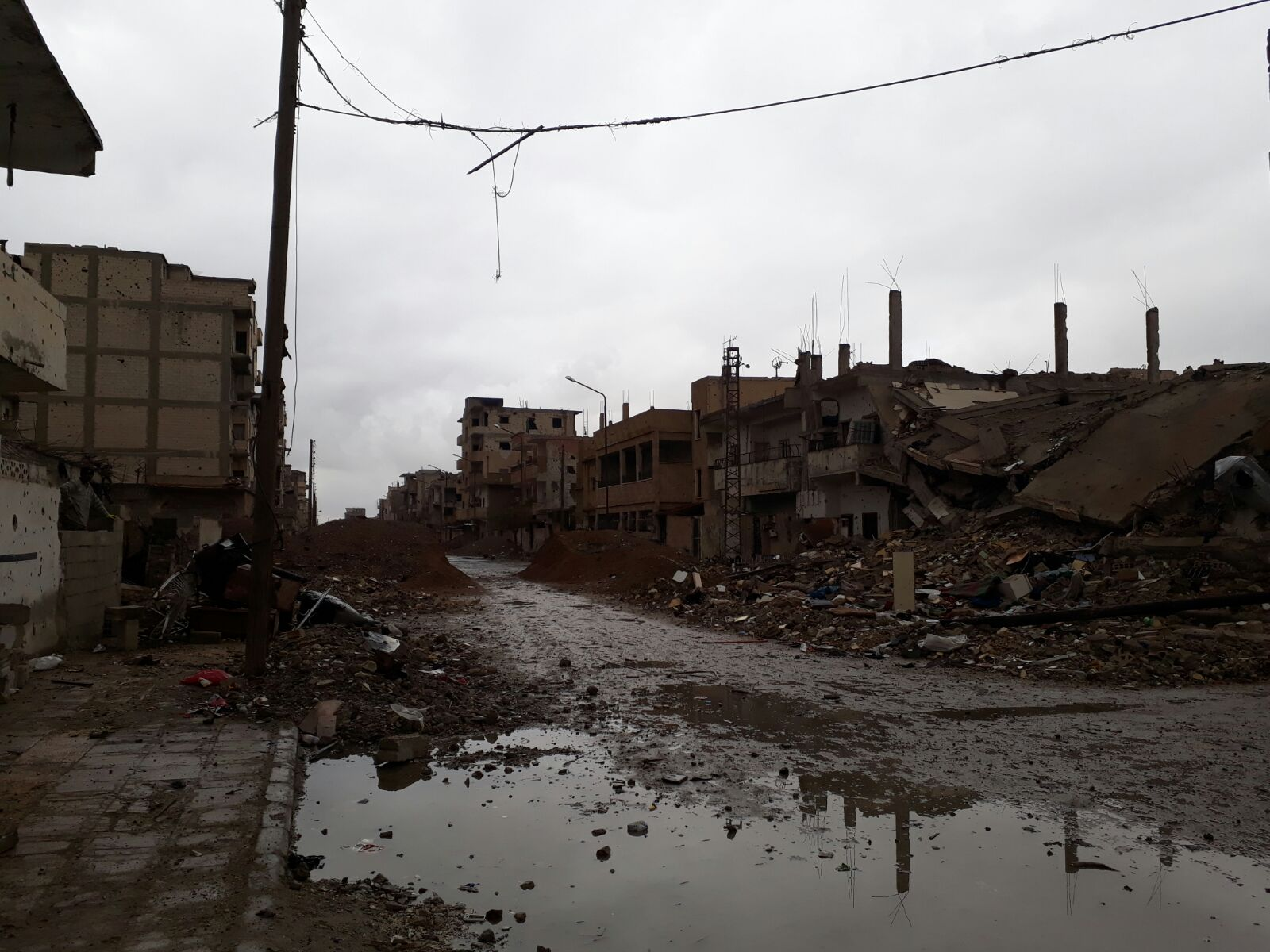 Syria: Households in Ar-Raqqa city face severe