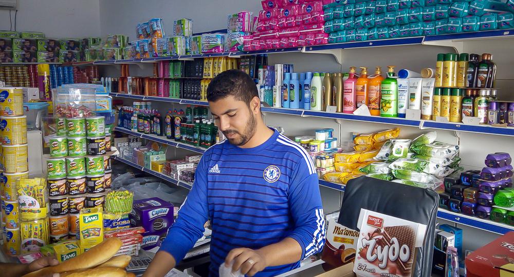 Shop in Sirte, Libya (© Athar, 2017)