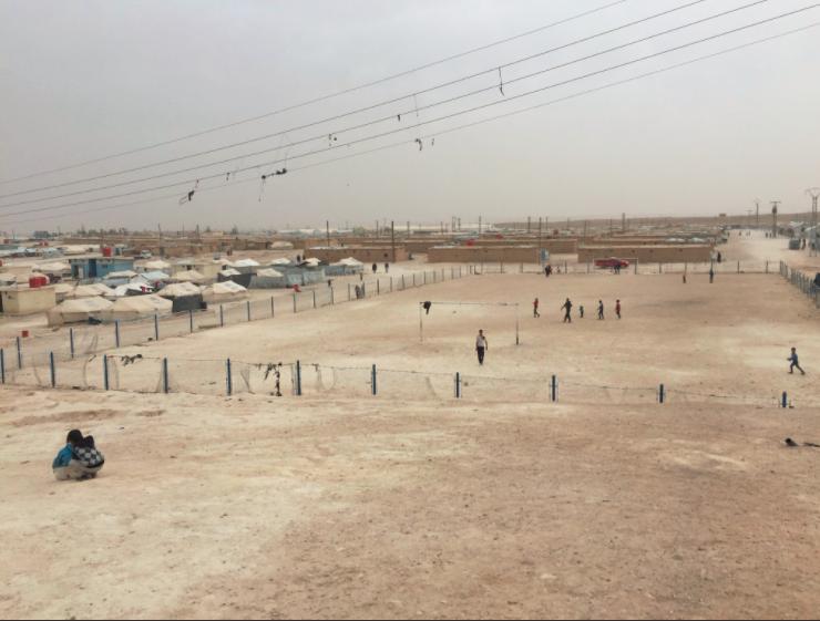 Patrick Sayers IDP Camp