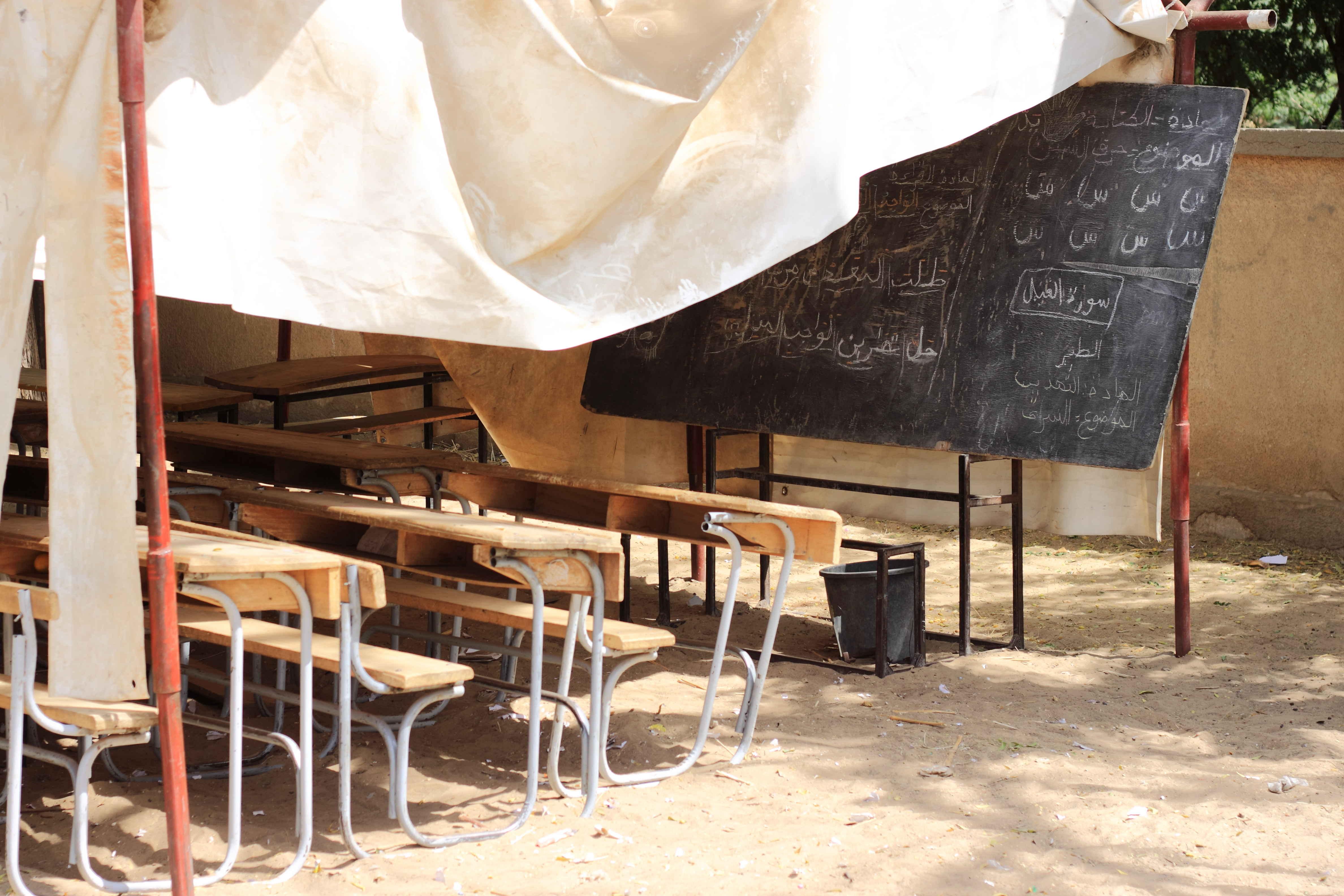 Emergency school in the Diffa region ©REACH/2018