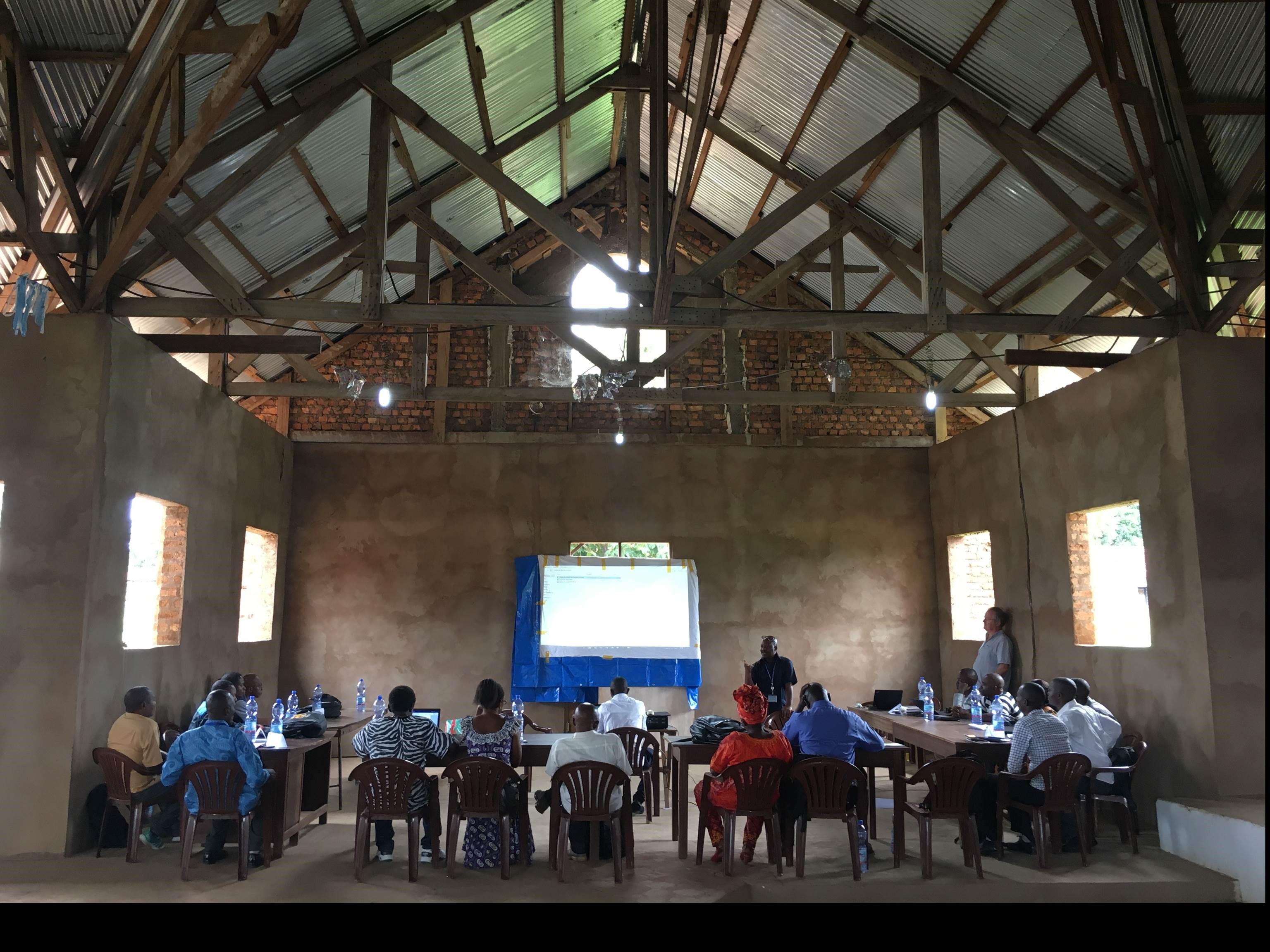 Training of enumerators in Tshikapa ©REACH/2018