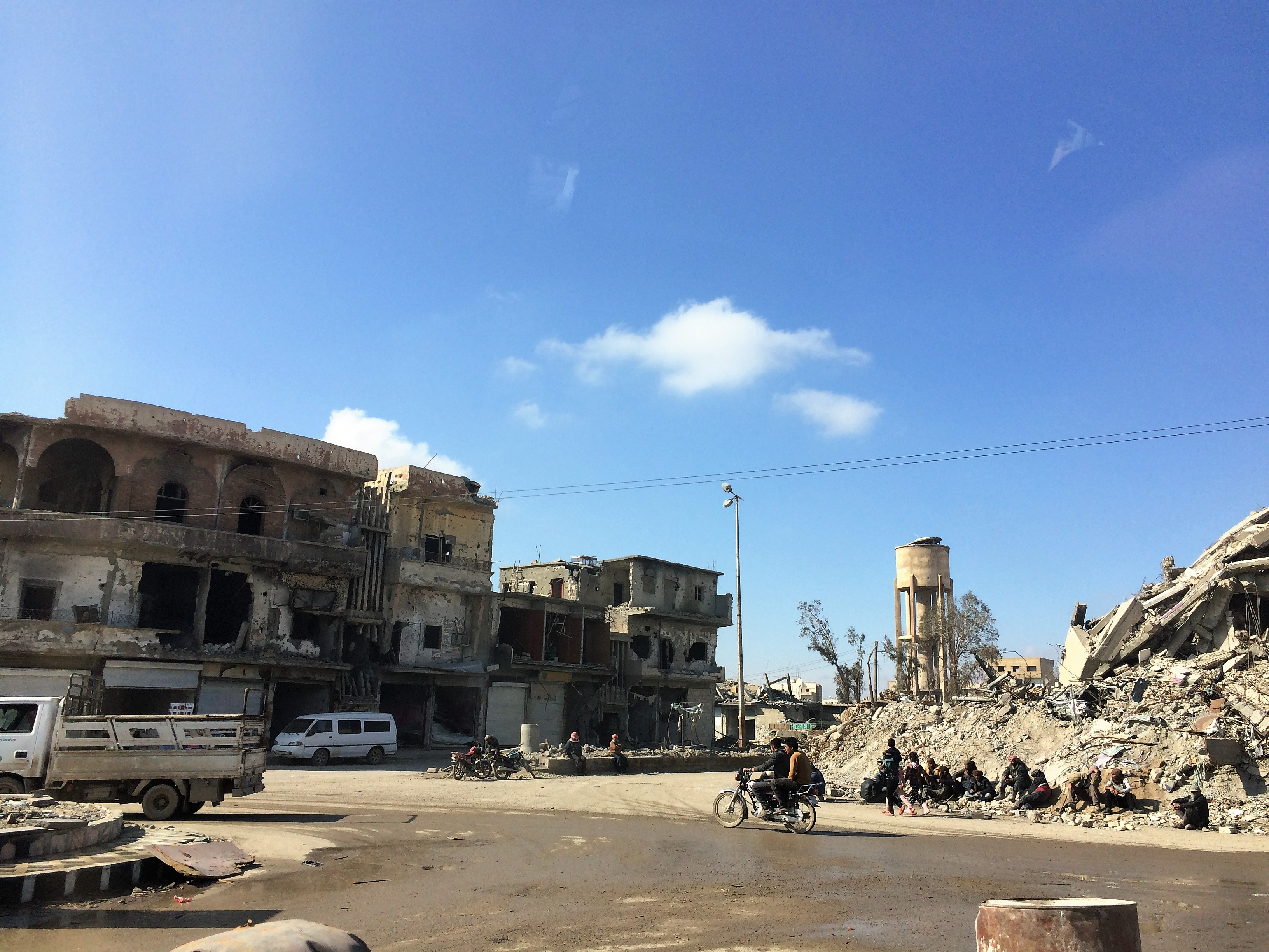 Access and movement has improved in most areas of Ar-Raqqa. ©REACH/2018