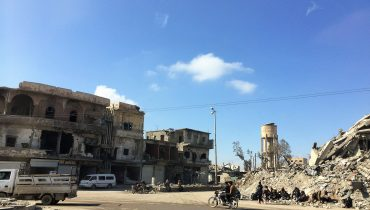 Syria: Widespread damage poses risks to residents and hinders recovery in Ar-Raqqa city