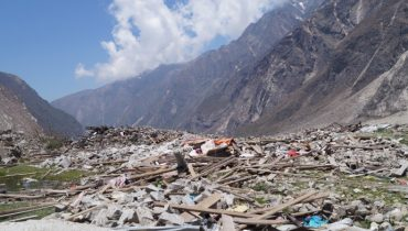 Nepal: Rapid assessment evaluates the impact of the two earthquakes in the Langtang Valley