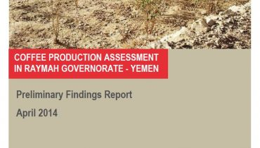 Coffee Value Chain Assessment in Raymah Governorate, Yemen