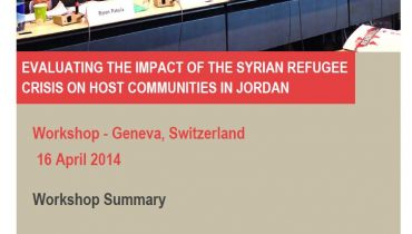 Evaluating the Impact of the Syrian Refugee Crisis on Jordanian Host Communities