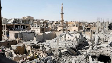 Syria – Ar-Raqqa City Offensive: The severe humanitarian situation faced by remaining residents prior to evacuation