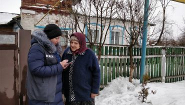 Ukraine: Extreme cold means extreme conditions for those living on the Line of Contact