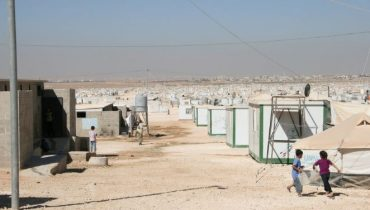New count shows decrease in population of Za'atari refugee camp
