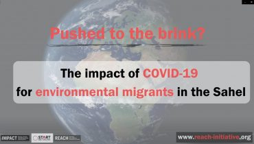 Beyond the tipping point? COVID-19 pushes environmental migrants to the brink in the Sahel