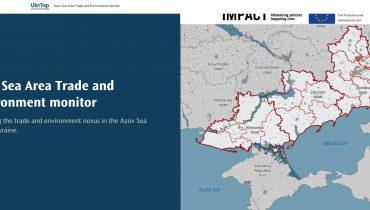 AZOV SEA AREA TRADE AND ENVIRONNEMENT MONITOR – UKRAINE